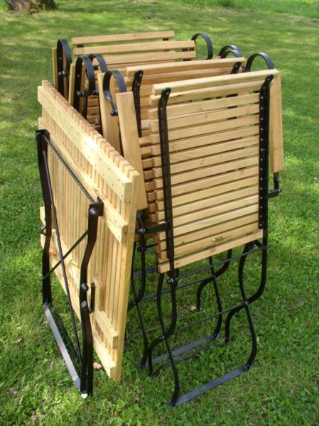 Gartenstühle holz metall  Gartenmöbel Holz Metall | wetterfeste Robinie und Metall | Iter® Garten