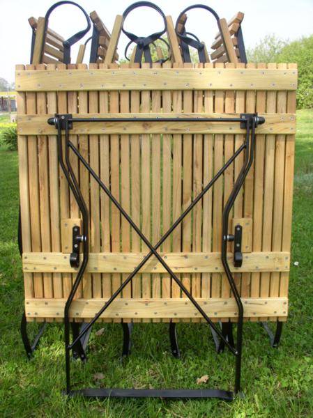 Gartenmöbel Fsc Robinienholz Und Metall Iter Möbel