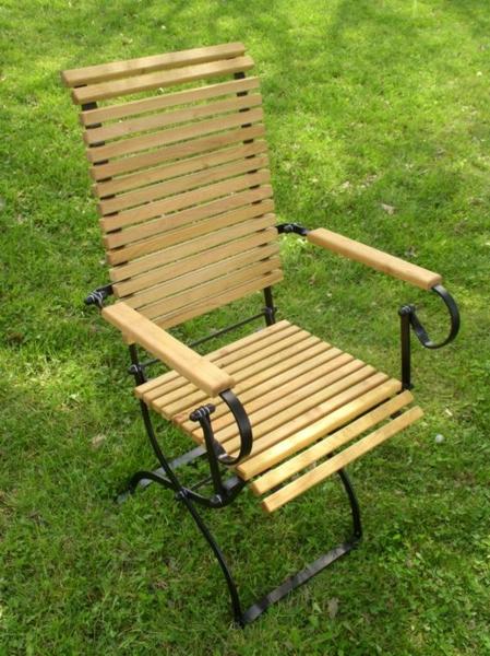 Gartenstühle holz metall  Gartenmöbel FSC® Robinienholz und Metall | ITER® Möbel