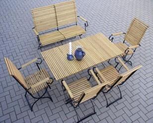 Gartenmöbel Metall Robinie Biergartenmöbel Iterdirekt Vomhersteller