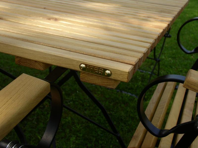 Gartenmöbel Holz Metall Wetterfeste Robinie Und Metall Iter Garten